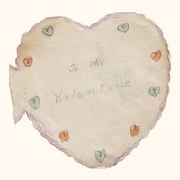 1920's Home Made Paper Valentine