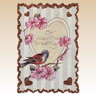 Whitney Valentine with Little Bird
