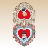 Double Sided Whitney Valentine - Blond Boy, Sweet Girl