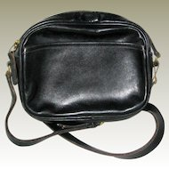Vintage Coach Black Convertible Handbag - Made in USA