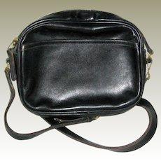 Vintage Coach Black Convertible Handbag - Made in USA