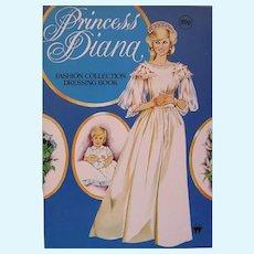 Vintage Uncut Princess Diana Paper Doll