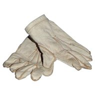 Antique French Bebe Gloves