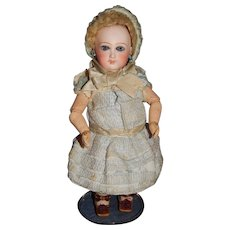 "10"" Rare Early Unmarked Jumeau Cartouche Bebe"