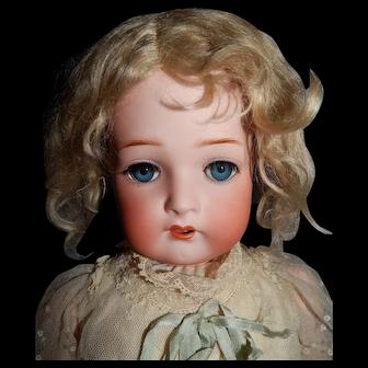 Antique Blonde Mohair Wig