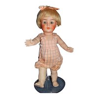 """9"""" K * R #126 All Bisque Toddler with Starfish Hands"""