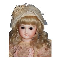 "12"" Early Premier Portrait Jumeau Bebe"