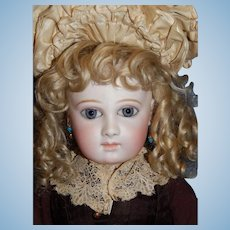 "23"" Rare Earliest Mark Portrait Jumeau #4 Bebe"