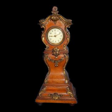 "11"" Miniature Antique Grandfather Clock"