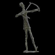 Franco d'Aspro (1911-1995) - Giacometti inspired Sculpture