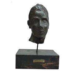 BRUNO ORFEI (born 1926) - Head of a Lady