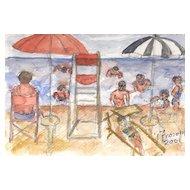 Giuseppe Fioroni (born 1938)  * Beach Mood *