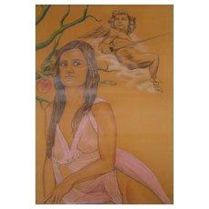Leonello Proietti  (born 1954)  * Eve and the Apple *