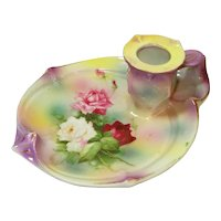 ROSES Art Nouveau Royal Bayreuth Night Light Candleholder