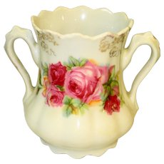 Romantic Roses Victorian Spooner Toothbrush Holder