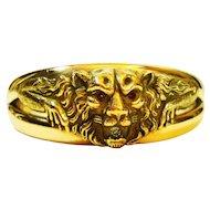 Old Beauty FMCO Victorian Lion Clamper Bracelet