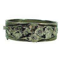 Forget Me Nots Victorian Revival Bracelet