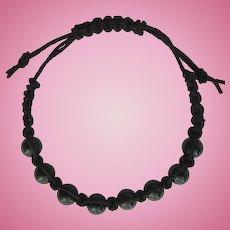 Men's Shamballa Bracelet with Black Onyx Beads