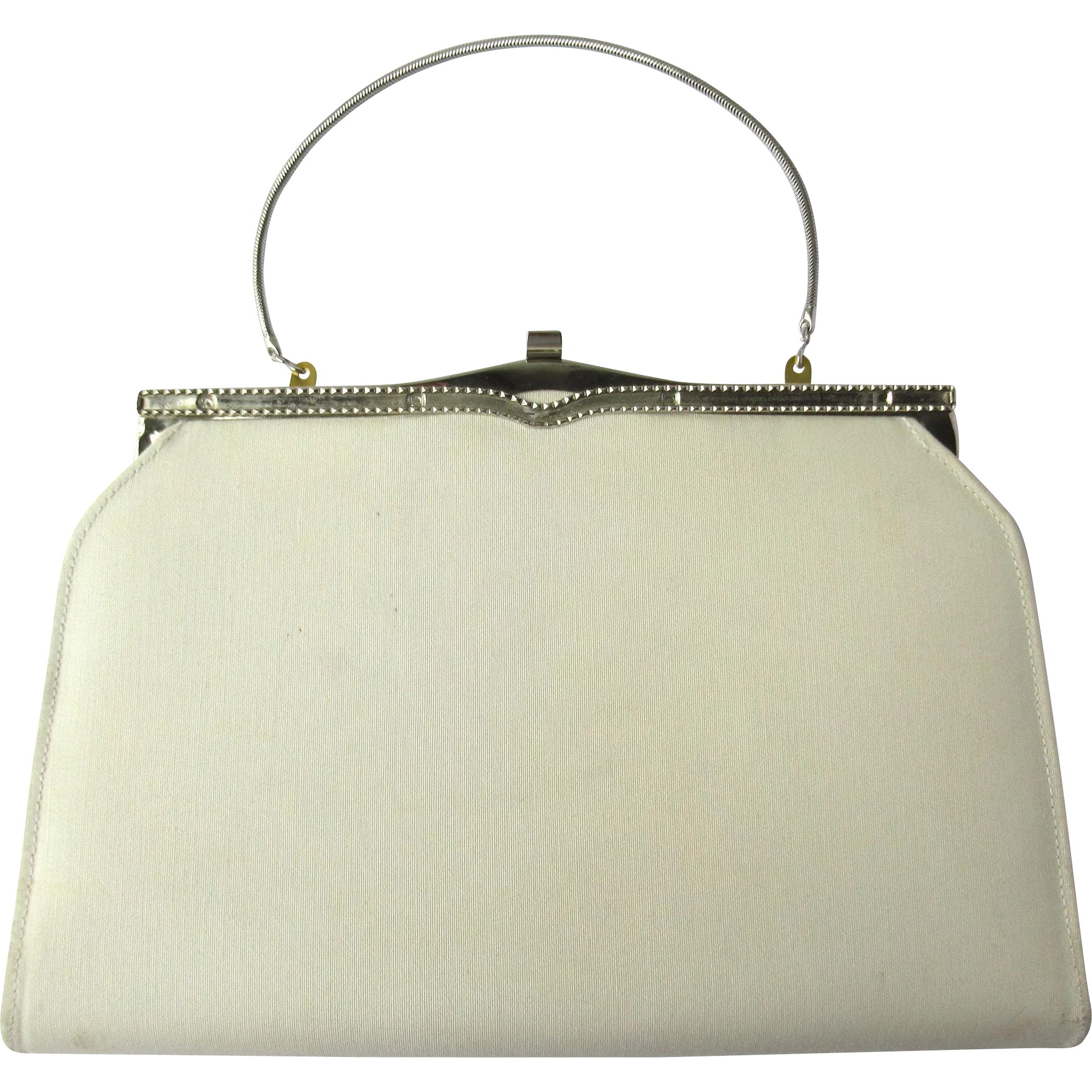 2a8494ae9005 Vintage 1950 s Convertible Clutch in Egg Shell Color – an Ambassador    Whimsy