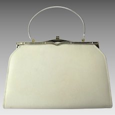 Vintage 1950's Convertible Clutch in Egg Shell Color – an Ambassador Original