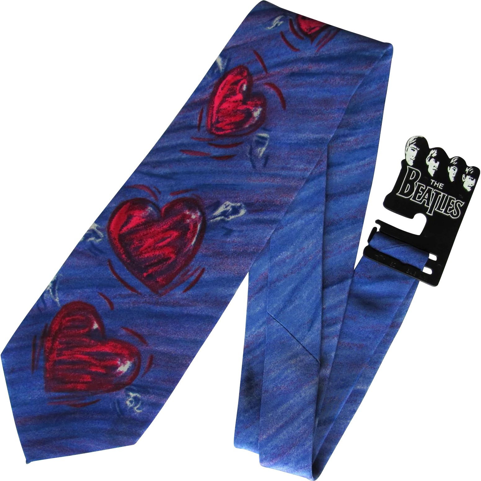 e3a8d9dc4a6c Vintage Beatles Necktie – And I Love Her – Mint with Original Beatles :  Whimsy   Ruby Lane