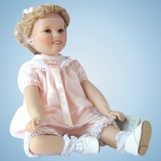 Little Miss Shirley Doll from Danbury Mint's Shirley Temple Toddler Collection in Original Box