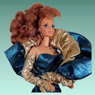 Classique Collection Benefit Ball Barbie 1996 Blue and Gold
