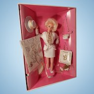 Classique Collection City Style Barbie 1993 White and Gold NIB