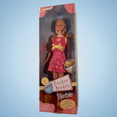 Vintage Easter Treats Barbie 1999 New in Box