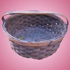 19th Century Woven Splint Basket