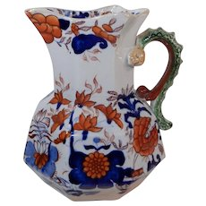 Masons Patent Ironstone China Hydra Jug Imari Pattern C. 1825