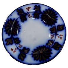 Gaudy Ironstone Bowl Chrysanthemum Pattern