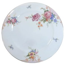 Epiag Czechoslovakia China Bridal Rose Dinner Plate