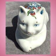Pretty Cat Trinket or Pin Box by Elizabeth Arden
