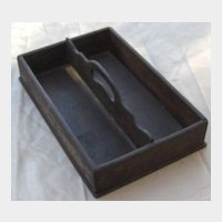Early Wood Cutlery Tray or Knife Box