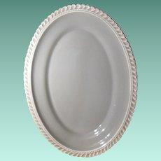 """Harkerware Chesterton Celadon 13 ½"""" Platter"""