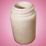 Early Stoneware Slip Glaze Preserve Jar