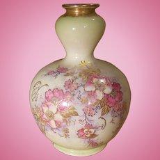 Royal Bonn Floral Vase Gold Gilding