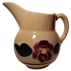 Watt Pottery Rio Rose Pattern Pitcher