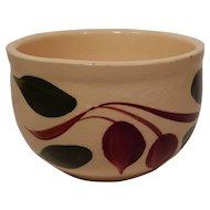 Watt Pottery Tear Drop Pattern Individual Bean Server #75