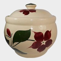 Watt Pottery Starflower Pattern Cookie Jar #21 Five Petal