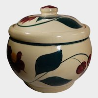 Watt Pottery Cherry Pattern Cookie Jar #21