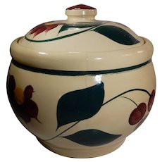 Watt Pottery Cherry Pattern Cookie Jar #21