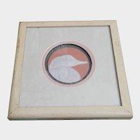 New Jersey Artist Ron Goeke Raised Relief Framed Duck Tile