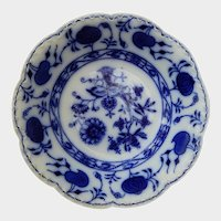 Johnson Brothers Flow Blue Onion Holland Pattern Cereal Bowl