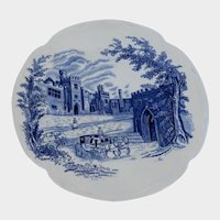 Johnson Brothers Blue Haddon Hall Bread and Butter Plate