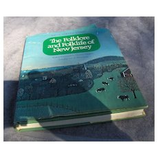 Fabulous Book - The Folklore and Folklife of New Jersey