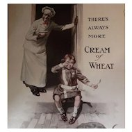 1920 Cream of Wheat Magazine Advertisement There's Always More George Gibbs