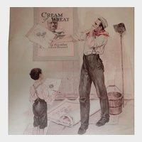 1920 Cream of Wheat Magazine Advertisement Imitation the Sincerest Flattery W. V. Cahill