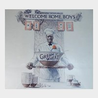 1919 Cream of Wheat Magazine Advertisement Welcome Home Boys Edward V. Brewer